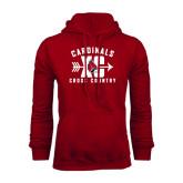 Cardinal Fleece Hood-Cross Country XC