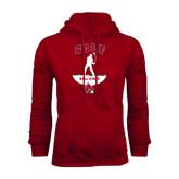 Cardinal Fleece Hood-Golf Stacked
