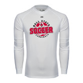 Under Armour White Long Sleeve Tech Tee-Soccer Circle