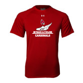 Under Armour Cardinal Tech Tee-Track & Field Side