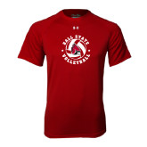 Under Armour Cardinal Tech Tee-Volleyball Circle