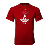 Under Armour Cardinal Tech Tee-Golf Stacked