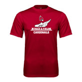 Syntrel Performance Cardinal Tee-Track & Field Side