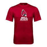 Performance Cardinal Tee-Ball State Cardinals Stacked