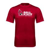 Syntrel Performance Cardinal Tee-Softball