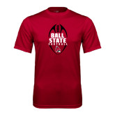 Syntrel Performance Cardinal Tee-Ball State Football Vertical
