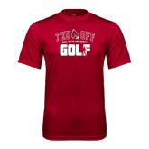 Performance Cardinal Tee-Golf Tee Off