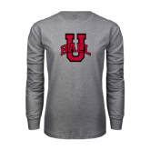 Grey Long Sleeve T Shirt-Ball U