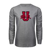 Grey Long Sleeve T Shirt-Ball U