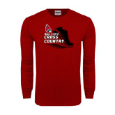 Cardinal Long Sleeve T Shirt-Cross Country Sneaker