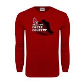 Cardinal Long Sleeve T Shirt-Cross Country Sneaker
