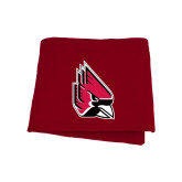 Cardinal Sweatshirt Blanket-Cardinal