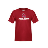 Youth Cardinal T Shirt-Ball State Cardinals w/ Cardinal