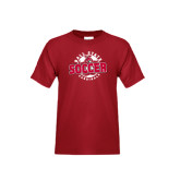 Youth Cardinal T Shirt-Soccer Circle