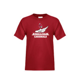 Youth Cardinal T Shirt-Track & Field Side