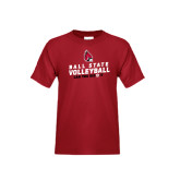 Youth Cardinal T Shirt-Volleyball Can You Dig It