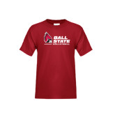 Youth Cardinal T Shirt-Volleyball