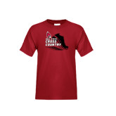 Youth Cardinal T Shirt-Cross Country Sneaker