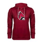 Adidas Climawarm Cardinal Team Issue Hoodie-Cardinal