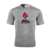 Performance Grey Heather Contender Tee-Ball State Cardinals Stacked