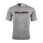 Performance Grey Heather Contender Tee-Ball State Cardinals