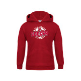 Youth Cardinal Fleece Hoodie-Soccer Circle