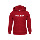 Youth Cardinal Fleece Hoodie-Ball State Cardinals