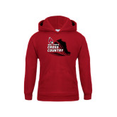Youth Cardinal Fleece Hoodie-Cross Country Sneaker