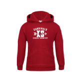 Youth Cardinal Fleece Hoodie-Cross Country XC