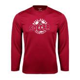 Syntrel Performance Cardinal Longsleeve Shirt-Soccer Circle