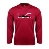 Performance Cardinal Longsleeve Shirt-Swim & Dive Diver