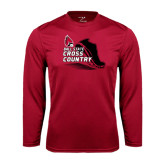 Syntrel Performance Cardinal Longsleeve Shirt-Cross Country Sneaker