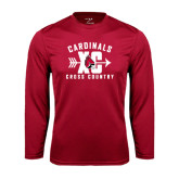 Syntrel Performance Cardinal Longsleeve Shirt-Cross Country XC