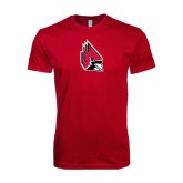 Next Level SoftStyle Cardinal T Shirt-Cardinal