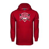 Under Armour Cardinal Performance Sweats Team Hoodie-Softball Bats and Plate