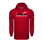 Under Armour Cardinal Performance Sweats Team Hoodie-Swim & Dive Diver