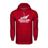Under Armour Cardinal Performance Sweats Team Hoodie-Track & Field Side