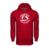Under Armour Cardinal Performance Sweats Team Hoodie-Volleyball Circle