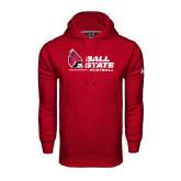 Under Armour Cardinal Performance Sweats Team Hood-Football