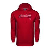 Under Armour Cardinal Performance Sweats Team Hood-Script Baseball