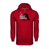 Under Armour Cardinal Performance Sweats Team Hood-Cross Country Sneaker
