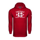Under Armour Cardinal Performance Sweats Team Hood-Cross Country XC