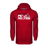 Under Armour Cardinal Performance Sweats Team Hoodie-Field Hockey Player