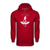 Under Armour Cardinal Performance Sweats Team Hood-Golf Stacked