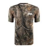 Realtree Camo T Shirt-Ball State Stacked