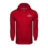 Under Armour Cardinal Performance Sweats Team Hoodie-Ball State Cardinals w/ Cardinal