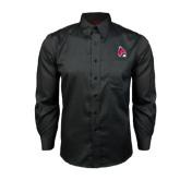 Red House Black Long Sleeve Shirt-Cardinal