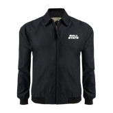 Black Players Jacket-Ball State Stacked