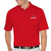 Callaway Opti Dri Red Chev Polo-Cardinal Head Ball State Cardinals