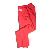 Athletic Red Wind Pant-Ball State Stacked